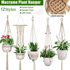 knittedplantpot, plantpotholder, Plants, Flowers