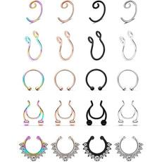 Steel, fakepiercing, Jewelry, piercingjewelry