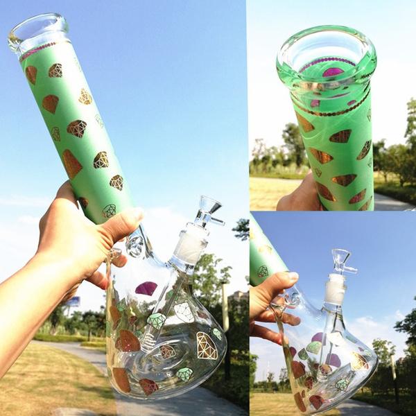 Beautiful, water, glasswaterpipe, grinder