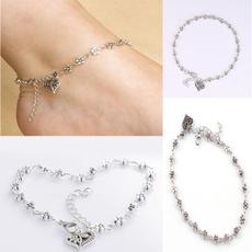 Heart, Sandals, Jewelry, Chain