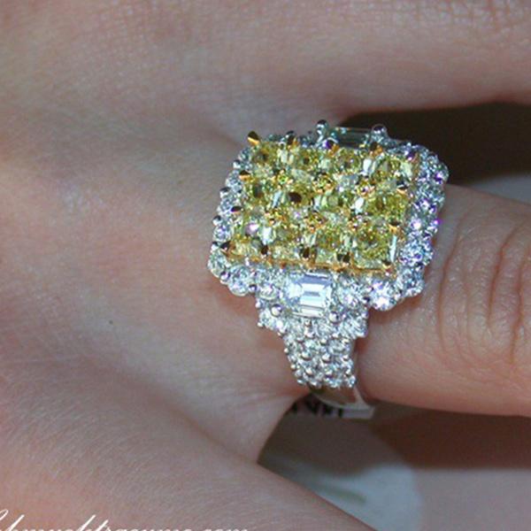 DIAMOND, zirconring, fulldiamond, Diamond Ring
