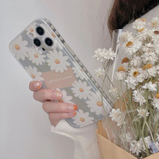 case, Heart, iphone12cover, Flowers