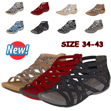 wedge, Fashion, summer shoes, Slippers
