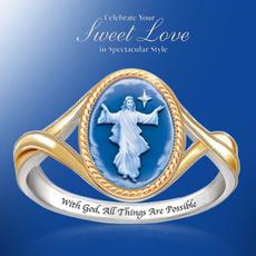 Sterling, elegantring, Christian, wedding ring