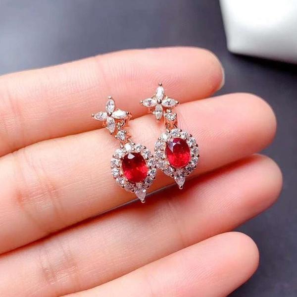 DIAMOND, Jewelry, gold, wedding earrings