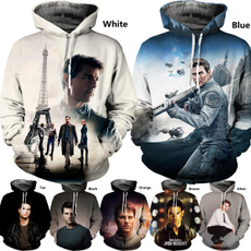 3D hoodies, Fashion, Sweaters, actor