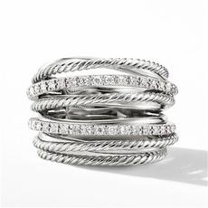 Sterling, DIAMOND, sterling silver, Cheap Rings
