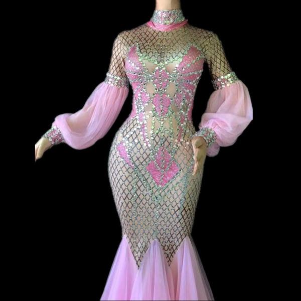 pink, gowns, dressesforwomen, performancewear