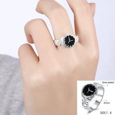 Steel, dial, quartz, Jewelry