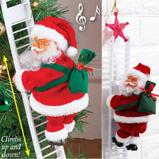 Home Decor, christmastreehanging, Santa Claus, jinglebell