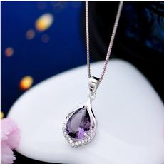 DIAMOND, Jewelry, Chain, apendantnecklace