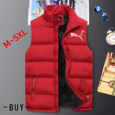 sleeveless, Vest, Plus Size, Jacket