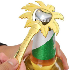 ringpopbottleopener, gold, Glass, Tool