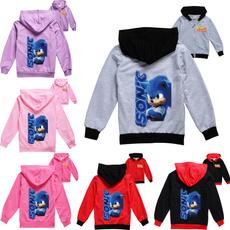 sonic, hooded, For Boys, Coat