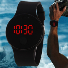 LED Watch, silicone watch, Waterproof, Silicone