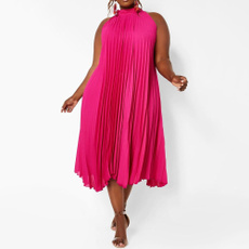 robedesoiree, beachdresse, fashion dress, Pleated
