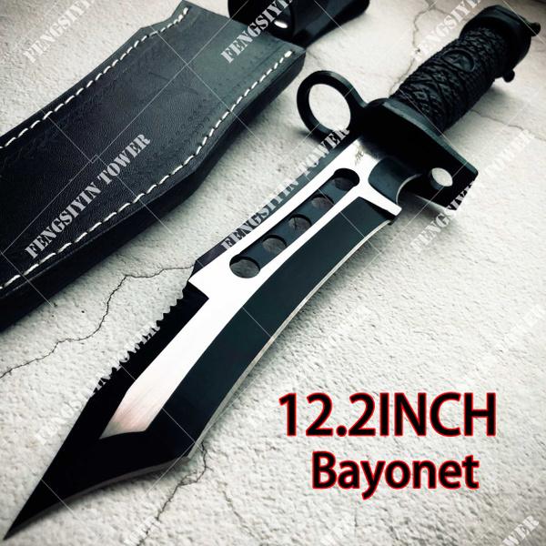 Outdoor, dagger, camping, fixedblade