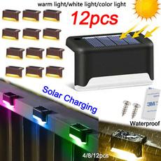 solarsteplight, lampdecoration, Outdoor, led