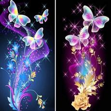 butterfly, DIAMOND, walldecoration, Rhinestone