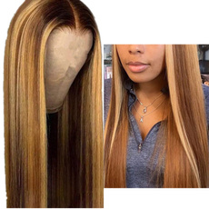 wig, brown, wirehairwig, brazilianstylewig