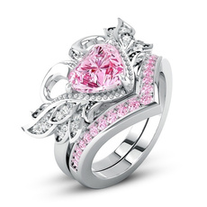 Sterling, Beautiful, DIAMOND, wedding ring