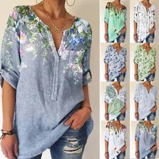 blouse, Summer, street style, Shirt