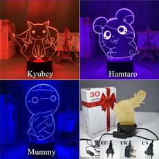 tablelampdesklight, led, cute, 3dlednightlight