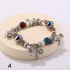Crystal Bracelet, Fashion, dragon fly, leafbracelet