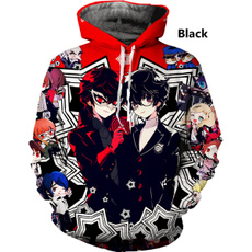 3D hoodies, Fashion, persona5sweater, Sweaters
