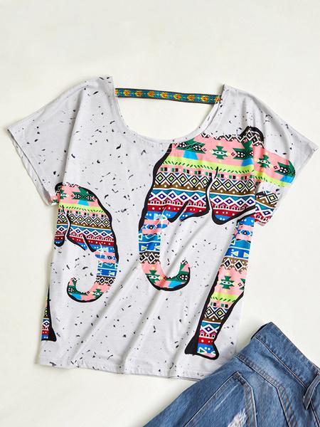 Plus Size, Necks, Sleeve, short sleeves