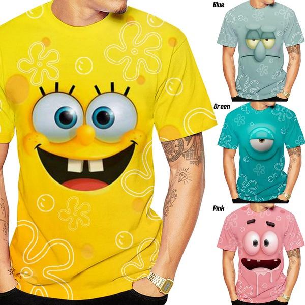 Summer, Sponge Bob, Personalized T-shirt, Animation