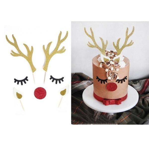 reindeerantler, Christmas, cakedecorationtool, caketopper