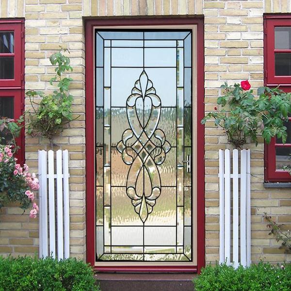 Home & Kitchen, Decor, waterproofdoorsticker, Door
