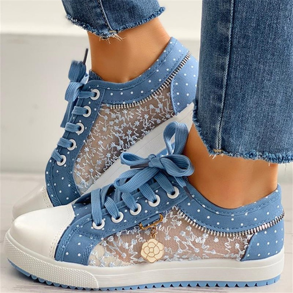 casual shoes, Summer, Sneakers, Lace