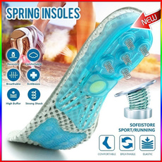 spongeinsole, Insoles, Silicone, Spring