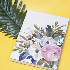 Flowers, writingbook, b5notebook, Journal