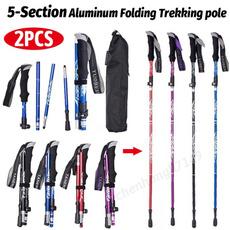 foldinghikingstick, trekkingpolemultifunction, Hiking, trekkingpolesstick