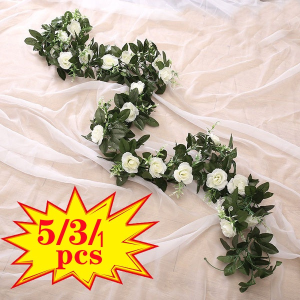 leaves, Flowers, Garland, Wedding Accessories