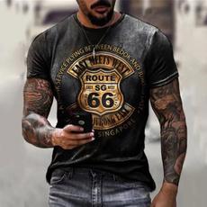 Mens T Shirt, Printed T Shirts, Summer, Man t-shirts
