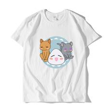 Summer, white shirt, Shirt, teeshirtfemme