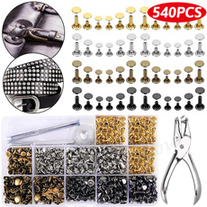 Craft Supplies, sewingbutton, Stud, leather
