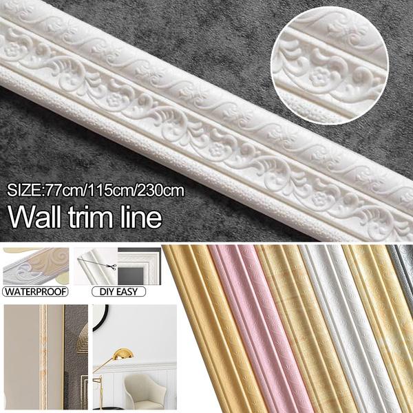walledgingstrip, walllinesmoldingtrim, skirtingline, Waterproof