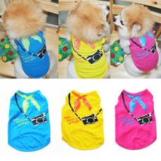 Summer, Vest, pet clothes, puppy