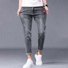 men's jeans, Slim Fit, ropadehombre, Fashion
