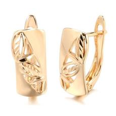 Fashion, gold, wedding earrings, Gold Earrings