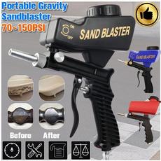 pneumaticsandblastinggun, Aluminum, sandblastinggun, Tool