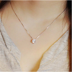 Sterling, clavicle  chain, Shorts, short necklace