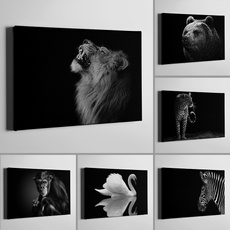 Decor, livingroomwallart, Black And White, Posters