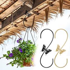 butterfly, birdfeederhanger, Plants, birdfeedersbracket