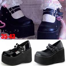 cutelolitashoe, Goth, Platform Shoes, gothic lolita